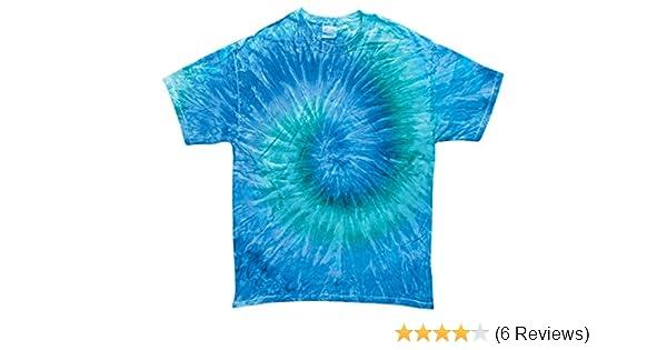 Blue Jerry Tie Dye Toddler Tee 2T 3T 4T Pre-Shrunk Cotton Gildan Short Sleeve