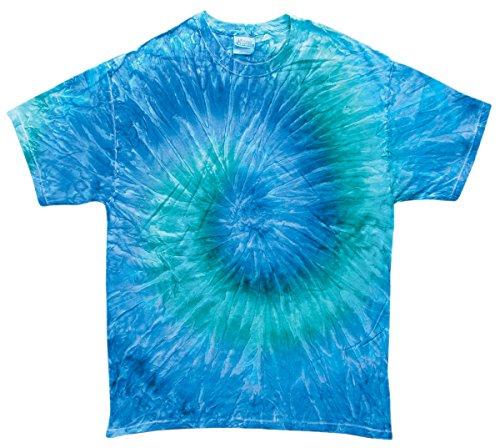 Multicolor 2T 3T 4T 100% Cotton (4T, Blue Jerry) (Boys Blue Tie Dye)