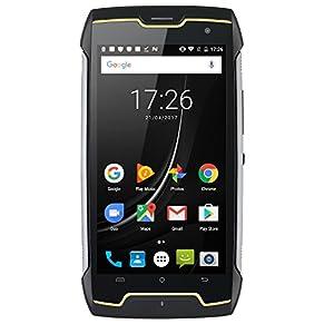 CUBOT Kingkong (2020) Android 10 Rugged Smartphone Unlocked, 4400mAh Big Battery, Dual-SIM, Compass+GPS, IP68 Waterproof…