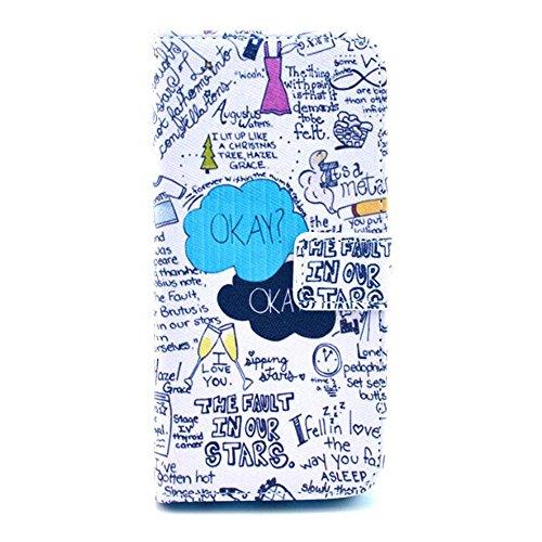 Painting Art Design Beutel PU Leder Stehen Flip Schutzhülle Hülle Tasche Schale Case Cover für Apple iPhone 6 4.7 Zoll (31#)