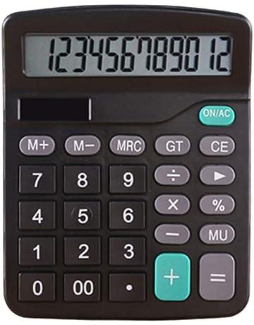 Calculadora Función estándar Computadora de escritorio Pantalla digital Finanzas de la oficina dedicadas con pantalla LCD