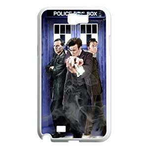Doctor Who Samsung Galaxy N2 7100 Cell Phone Case White VC9G6864