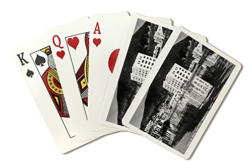 Ketchikan, Alaska - Federal Bldg and Post Office Photo (Playing Card Deck - 52 Card Poker Size with Jokers)