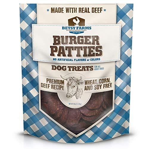 Betsy Farms Burger Patties Dog Treat (40 oz.)