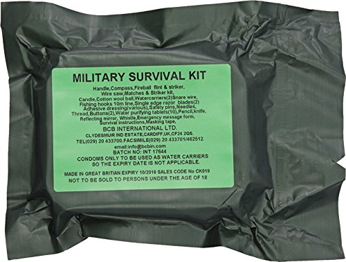 BCB ADVENTURE Military Survival Kit