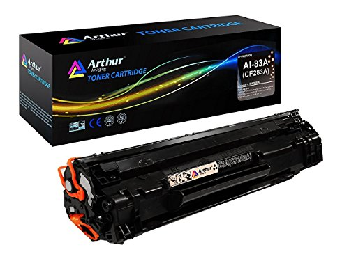 Arthur Imaging Compatible Toner Cartridge Replacement For HP CF283A (HP 83A) (Black, 2-Pack) 4 700 Color Laserjet