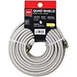 RCA 50-Feet Quad Shield Coax Cable (DH50QCF)