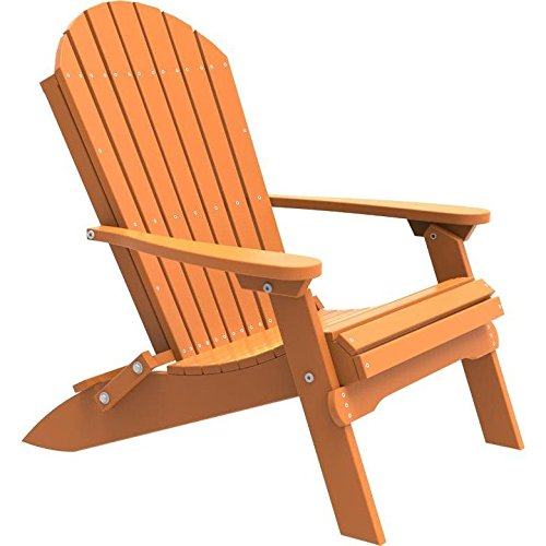 Cheap LuxCraft Recycled Plastic Folding Adirondack Chair