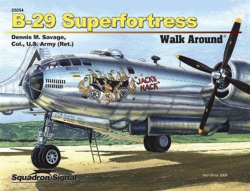 B-29 Superfortress - Color Walk Around No. (Bomber Deck)