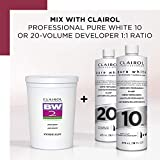 Clairol BW2 Powder Lightener for Hair Coloring, 8