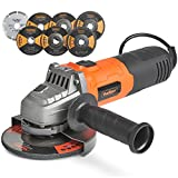 "VonHaus 125mm 900W (5"") Angle Grinder with 7 Disc Accessory Kit –..."