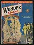img - for [Pulp magazine]: Wonder Stories --- April 1933 (Volume 4, Number 11) book / textbook / text book