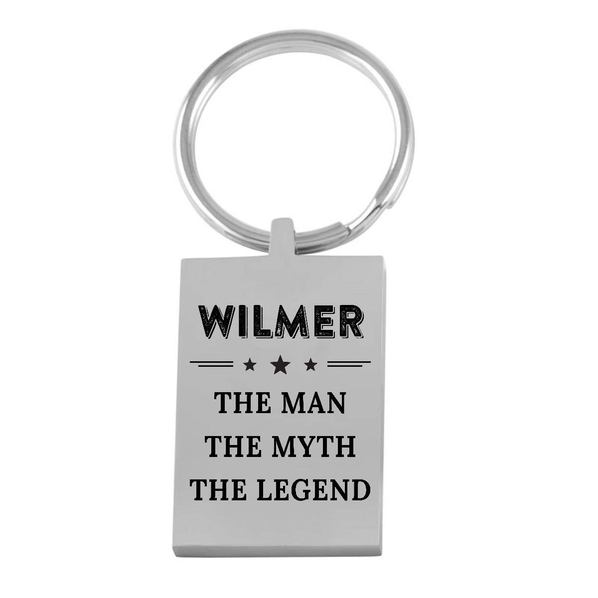 Personalised Photo Engraved Premium Keyrings Keychain Fathers Day Gift