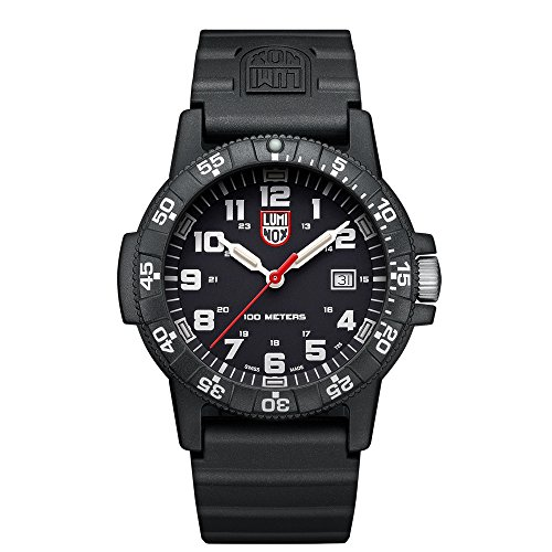 Luminox Series Mens - Luminox 0321 Leatherback SEA Turtle Giant Black Mens Watch 0320 Series