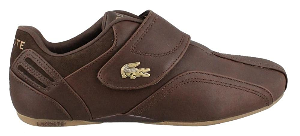 5709bcc21eee Lacoste Mens Protect Era Prl Sneakers In Dark Brown Tan 10 (Adult)   Amazon.co.uk  Shoes   Bags