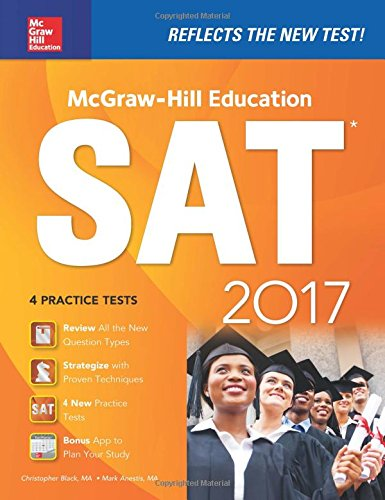 McGraw-Hill Education SAT 2017 Edition (McGraw Hill's (Premier Tug)
