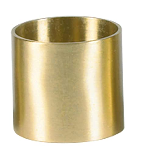 Candle Holder Wilbaum Brass Socket Church Supplies, 1 1/2 Inch