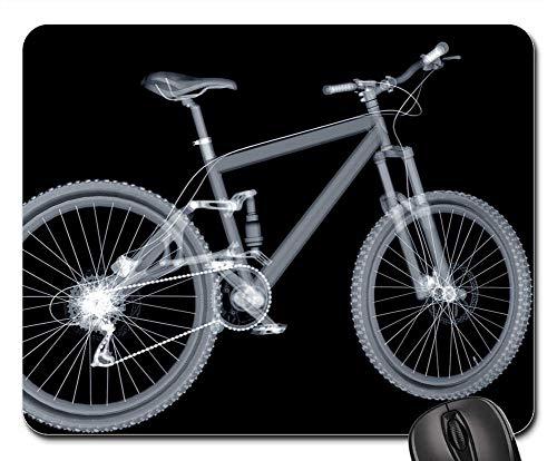 (Mouse Pad - Mountain Bike Bike Mature Wheel Saddle Spokes)