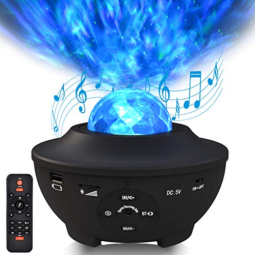 Sylvwin Star Light Projector & Bluetooth Speaker