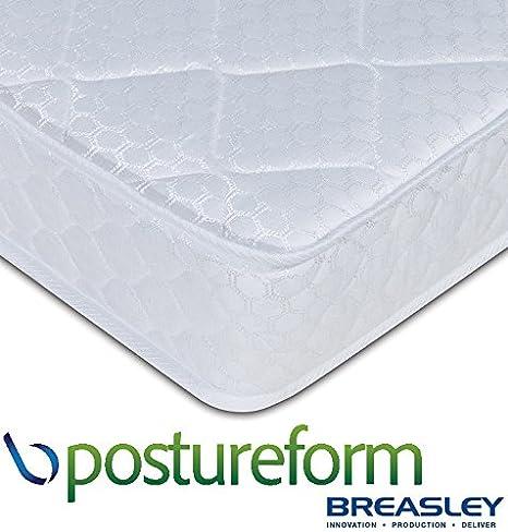 Stickbase Ltd Breasley Postureform Deluxe 14 cm Profundo colchón con Tacto Suave, Espuma de Alta