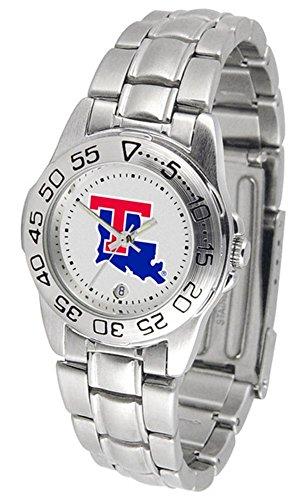 Watch Tech Sport Louisiana Bulldogs (Louisiana Tech Bulldogs Sport Steel Women's Watch)