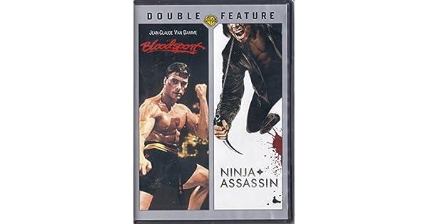 Amazon.com: Bloodsport / Ninja Assassin (Double Feature ...