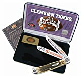 Case Cutlery CACU16CATAB-BRK Clemson Champion Trapper For Sale