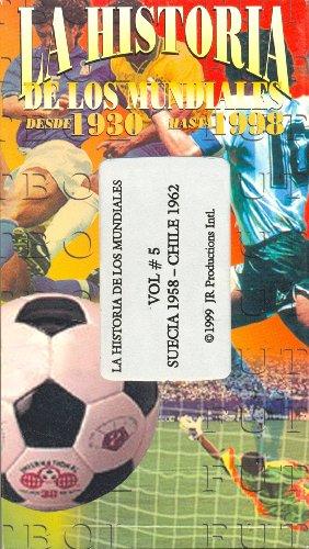 La Historia de Los Mundiales: Vol. #5, Suecia 1958 - Chile 1962 ()
