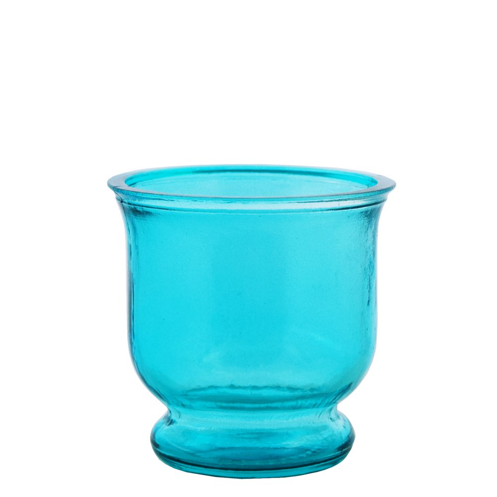 Grehom Recycled Glass Small Hurricane