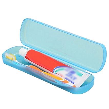 Estuche plastico para cepillo de dientes