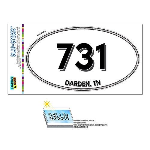 graphics-and-more-area-code-oval-window-laminated-sticker-731-tennessee-tn-adamsville-lavinia-darden