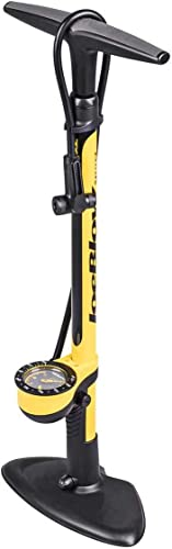 Topeak Joe Blow Sport III Floor Pump, Yellow