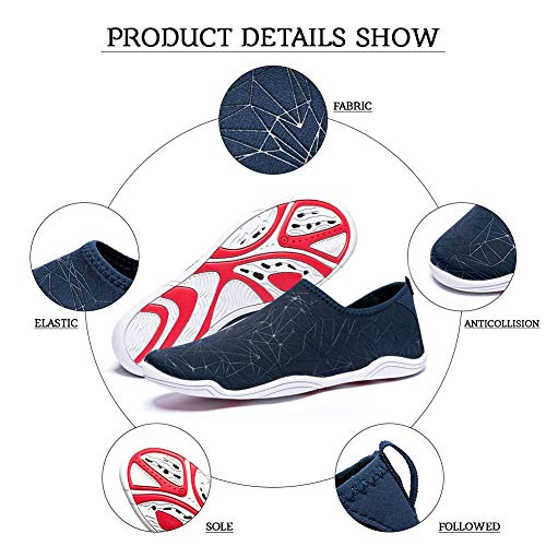 Madaleno Nager Surfer Conduite Chaussures Plage Plonge Rapide Marcher Blue Navigation Schage Jardin Lgers Yoga diamond Shoes Sports Aqua Hommes Bateau Water zZvrz