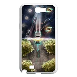 Back To The Future Samsung Galaxy N2 7100 Cell Phone Case White persent xxy002_6870399