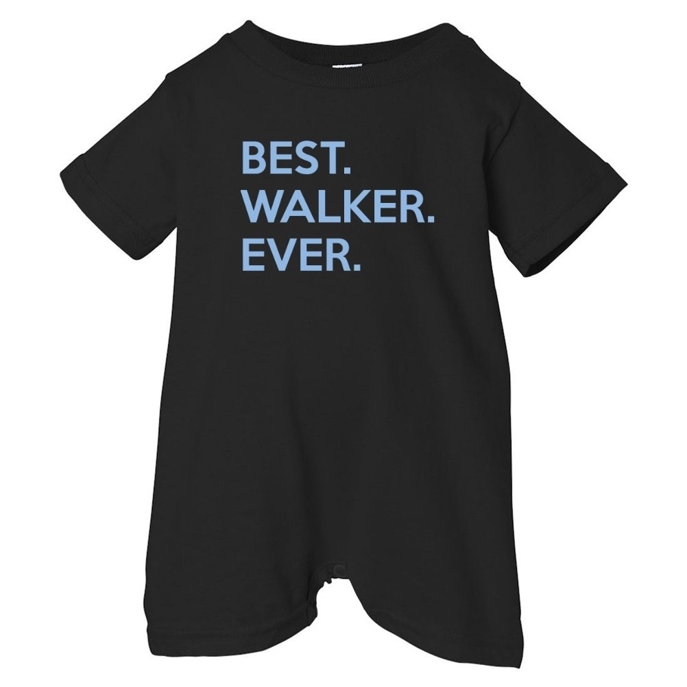 Mashed Clothing Unisex Baby Best Walker Ever T-Shirt Romper