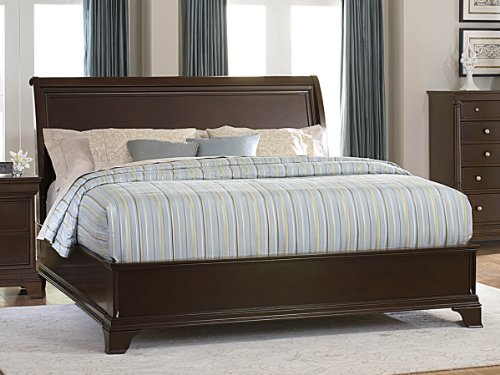 Inglewood Panel Bed (Inglewood Eastern King Low Profile Bed by Homelegance in Espresso)