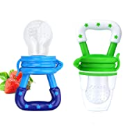 Baby Fresh Food Feeder Silicone Feeder Silicone Teether Feeder Pacifier Toy with...