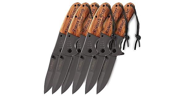 Amazon.com: Personalized Folding Pocket Knife Customized ...