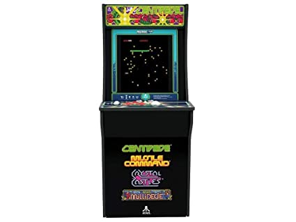 Arcade 1Up Centipede Classic 80s Game Cabinet For Kids And Adults 3 4 Scale