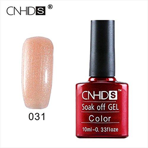 - LtrottedJ CNHIDS Nail, Gel Polish UV&LED Shining Colorful 10ML Long Lasting Soak Off Varnis (G)