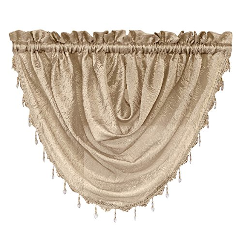 Used, Renaissance Home Fashion Whisper Waterfall Valance, for sale  Delivered anywhere in USA