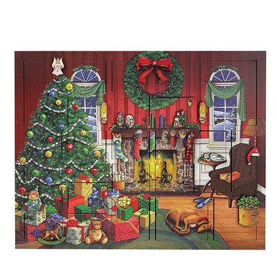 Byers' Choice Fireside Advent Calendar #AC03B