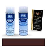 2018 Jaguar F-Type Black Cherry Pearl 1AE/PEH/2045 Touch Up Paint Spray Can Kit by PaintScratch - Original Factory OEM Automotive Paint - Color Match Guaranteed