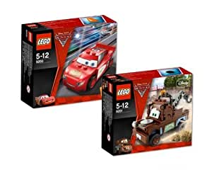 LEGO 8200 - 8201 Cars 2 - Rayo McQueen y Mate
