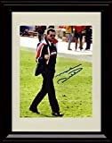 Framed Mike Ditka Autograph Replica Print - Flipping the Bird