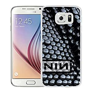 Beautiful Designed Cover Case With Nine Inch Nails Graphics Name Reflection Light (2) For Samsung Galaxy S6 Phone Case