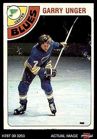 a0eb1d92a 1978 Topps   110 Garry Unger St. Louis Blues (Hockey Card) Dean s Cards