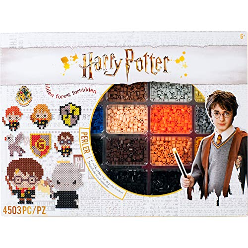 Perler 80-54345 Harry Potter Fuse Bead Kit, 4503pc, 19 Patterns, Multicolor -