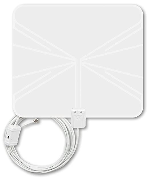 Amazon Com Winegard Flatwave Amped Indoor Amplified Hdtv Antenna