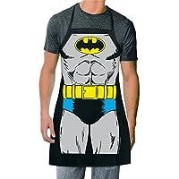 ICUP DC Comics - Batman The Character Adult Size 100% Cotton Delantal negro ajustable